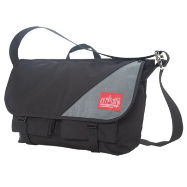 Sputnik 2.0 Messenger Bag - Black - Grey