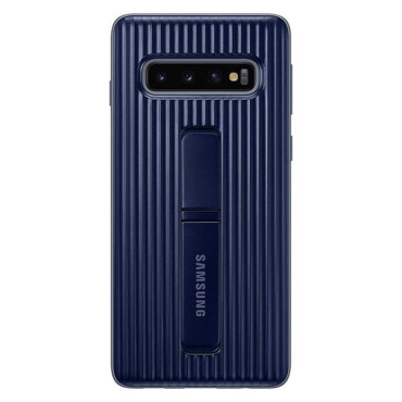 """Samsung Protective Standing Cover suits Galaxy S10 (6.1"""") - Black"""
