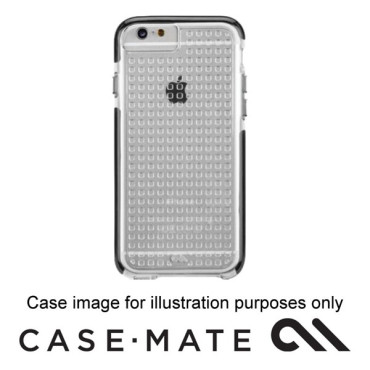 CASE-MATE TOUGH AIR CASE SUITS IPHONE 7 - CLEAR/BLACK