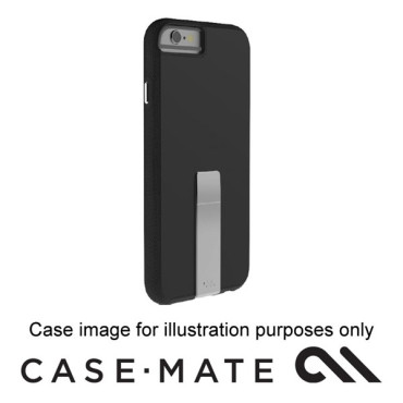 CASE-MATE TOUGH STAND CASE SUITS IPHONE 7- BLACK/GREY