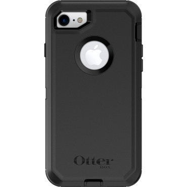 OTTERBOX DEFENDER CASE SUITS IPHONE 7/8/SE - BLACK