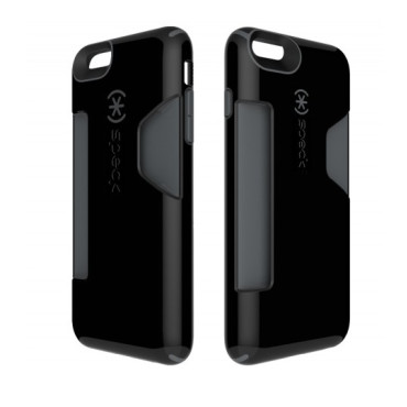 Speck iPhone 6 Plus CandyShell Card Black/Slate Grey