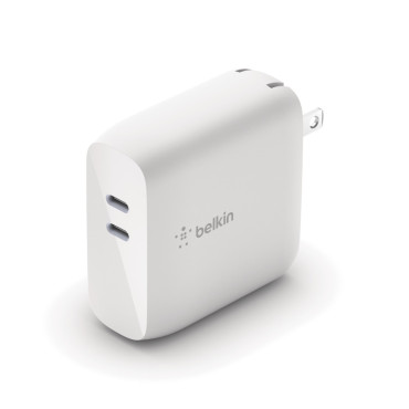 Belkin Boostcharge Dual USB-C PD Wall Charger 68W