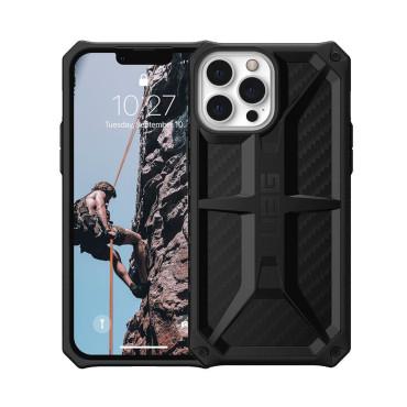 "UAG iPhone 13 Pro (6.1"") UAG Monarch Rugged All Terrian Case - Carbon Fiber"