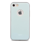 Moshi iGlaze for iPhone 7/8/SE - Slim, Lightweight Snap-On Case Powder Blue
