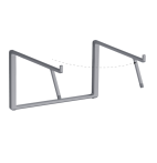 mBar Pro+ foldable stand for MacBook - Space Grey
