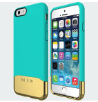INCIPIO EDGE Chrome for iPhone 6 -  Teal Gold