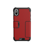 Urban Armor Gear Metropolis Case for iPhone X Magma