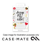 CASE-MATE NAKED TOUGH CUSTOM CASE WITH STICKERS SUITS IPHONE 7 PLUS - CLEAR