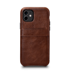 Sena Snap On Wallet Case for iPhone 12 Mini - Brown