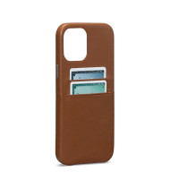 Sena Snap On Wallet Case for iPhone 12/12 Pro - Brown