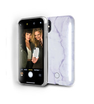 LuMee DUO Pearl for iPhone X / XS - Pearl Purple