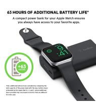 Belkin BOOSTCHARGE Power Bank for Apple Watch - 2K Black