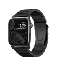 Nomad Steel Band for Apple Watch 42/44mm - Black hardware