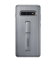 "Samsung Protective Standing Cover suits Galaxy S10 (6.1"") - Silver"