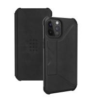 UAG Metropolis - iPhone 12/12 Pro - Leather Black