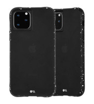 """CaseMate Tough Speckled Case For iPhone 11 Pro Max (6.5"""") - Active Black"""
