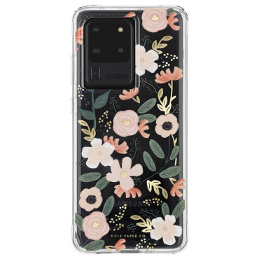 Case-Mate Rifle Paper Case suits Samsung Galaxy S20 Ultra (6.9) - Wild Flowers