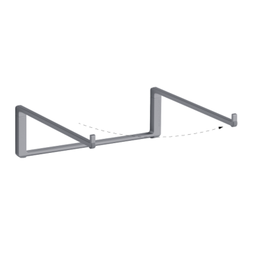 mBar Pro foldable stand for MacBook - Space Grey