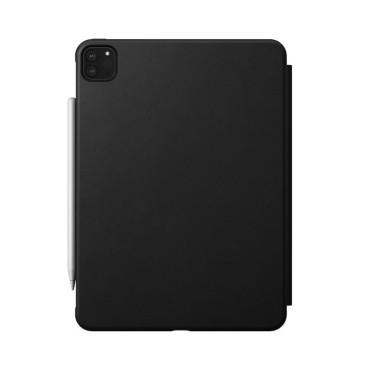 Nomad Rugged Folio - iPad Pro 11 (2nd Gen) - Leather - Black
