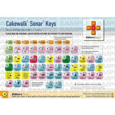 EditorsKeys Sonar Keyboard Set