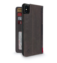 Twelve South BookBook for iPhone Xs Max - Brown