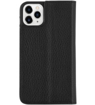 """Case-Mate Leather Wallet Folio Case For iPhone 11 Pro (5.8"""") - Black"""