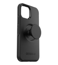 OtterBox +Pop Symmetry Case For iPhone 12 Pro Max  Black