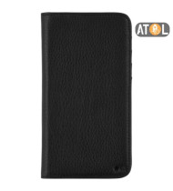 """CaseMate Leather Wallet Folio Case For iPhone 11 Pro Max (6.5"""") - Black"""
