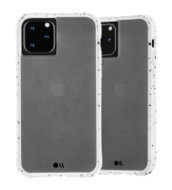"""Case-Mate Tough Speckled Case For iPhone 11 Pro (5.8"""") - Athletic White"""