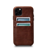 Sena Snap On Wallet Case for iPhone 11 Pro - Cognac