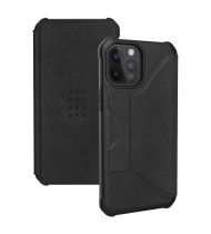 UAG Metropolis - iPhone 12/12 Pro - Leather Black