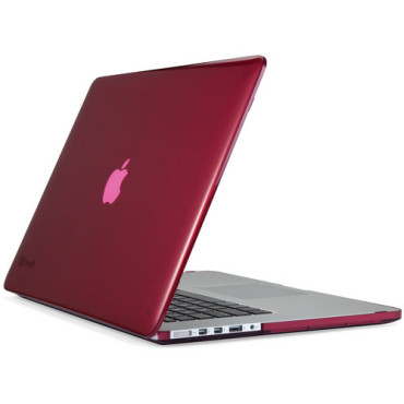 "Speck SeeThru for MacBook Pro 15"" with Retina Display - Raspberry"