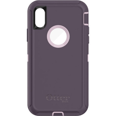 OtterBox Defender Series Screenless Edition Case  iPhone X | XS  Purple Nebula