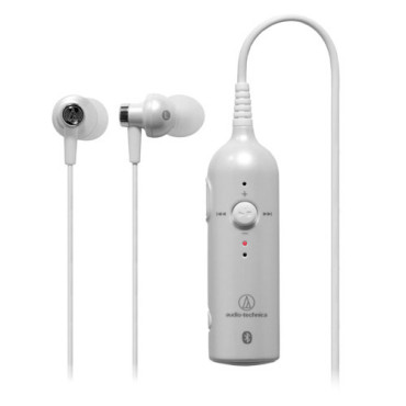 Audio Technica ATH-BT03 Bluetooth in-ear Headset Pearl White
