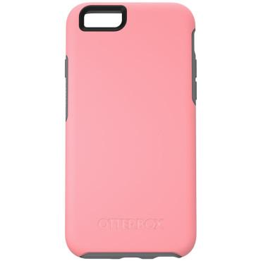 OtterBox Symmetry Case suits iPhone 6 Plus/6S Plus - Coral/Gunmetal Grey
