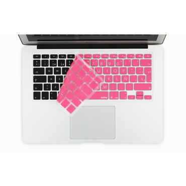 "Keyboard Skin for MacBook 12"" Pink"