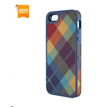 Speck FabShell MegaPlaid Spectrum Cases for iPhone 5s