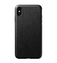 Nomad Horween Leather Rugged Case for iPhone XS Max - Black