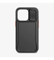 """Tech21 iPhone 13 Pro (6.1"""") Tech21 Evo Max Rugged Case W/Holster - Off Black"""