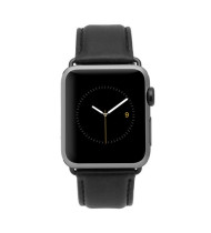 Case-Mate Signature Leather Apple Watchband suits 42mm version - Black