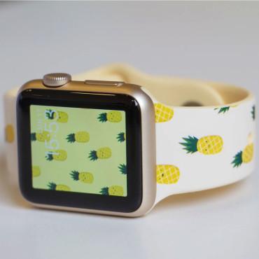 MobyFox Pineapples 42/44mm Apple Watch