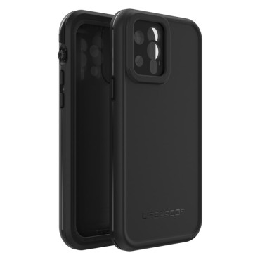 LifeProof Fre Series Case For iPhone 12 Pro  Black