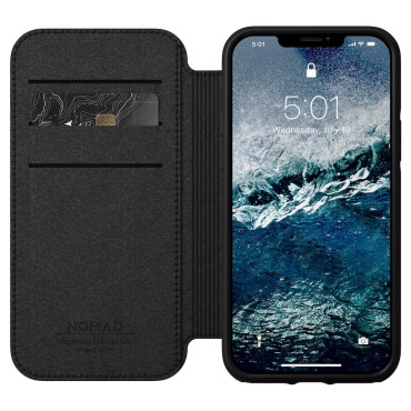 Nomad Folio - Rugged - iPhone 12 Pro Max - Black