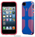 CandyShell Grip Harbor Blue/Coral Pink - iPhone 5S