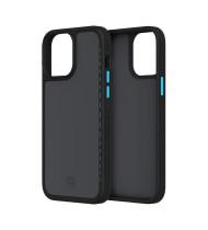 """Incipio iPhone 13 Pro (6.1"""") Incipio Optum Rugged Slim Case - Black/Electric Blue"""