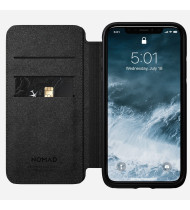 Nomad Leather Folio - Rugged - iPhone 11 Pro - Black