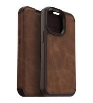 """OtterBox iPhone 13 Pro (6.1"""") OtterBox Strada Card Folio Wallet Case - Espresso Brown"""