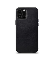 LeatherSkin Leather Case iPhone 13 and 13 Pro - Black