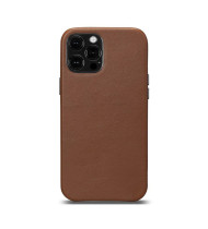 LeatherSkin Leather Case iPhone 13 and 13 Pro - Brown
